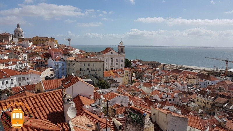Miradouro das Portas do Sol - what to see in Lisbon