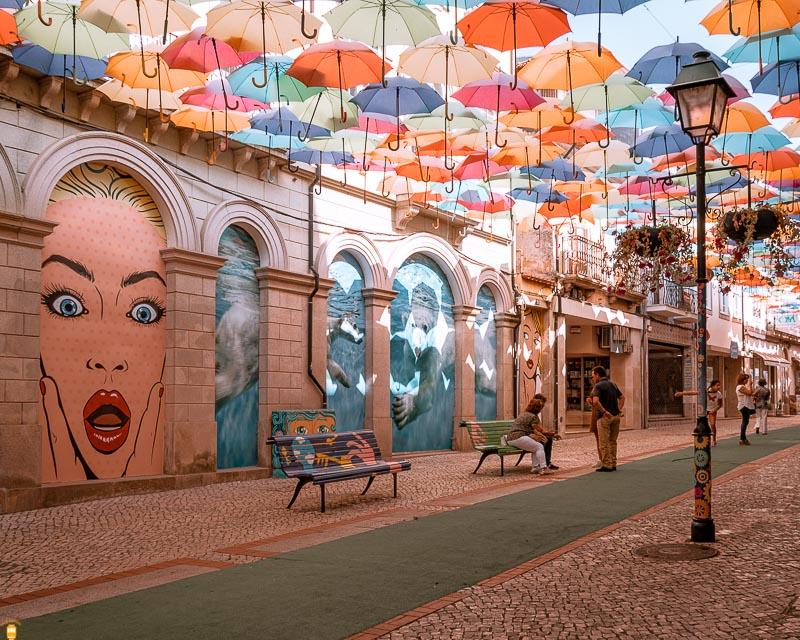 Agueda - Umbrella Sky Project - Portugal